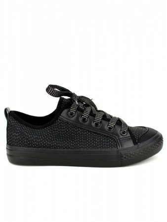 Baskets Noires paillettes LIKES IN