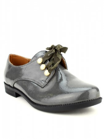 Derbies Grey vernies CINKS LOOKS, image 02