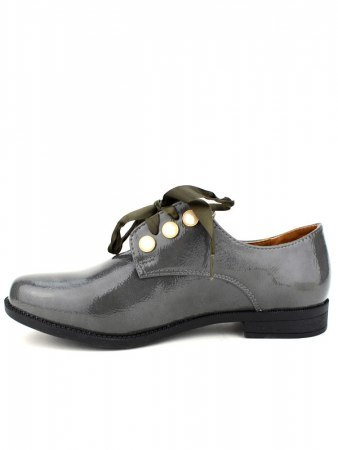 Derbies Grey vernies CINKS LOOKS, image 03