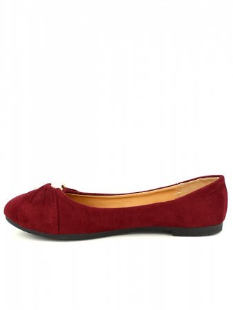 Ballerines bordeaux PERLES LOOKS, image 02