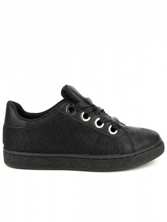 Baskets Noires pailletées CINKS