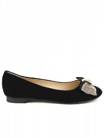 Ballerines noires SIXTH AND SHOES