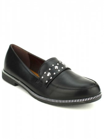 Derbies Noires Simili cuir PRINCESIA, image 02