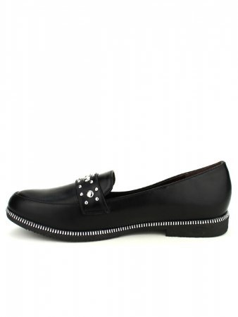 Derbies Noires Simili cuir PRINCESIA, image 03