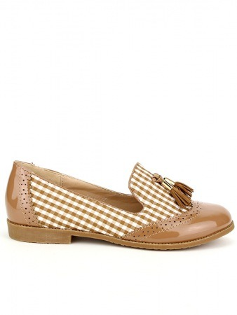Derbies Vichy Marron KIANA