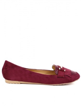 Mocassin Bordeaux HILOKA Mode