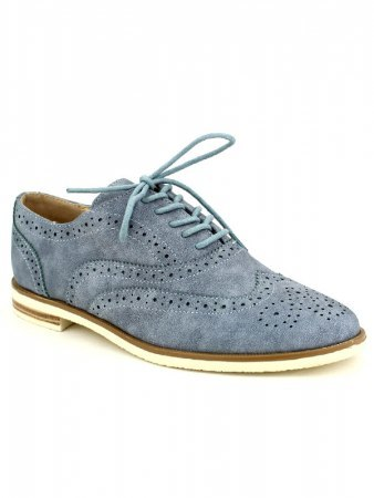Derbies Bleues Jeans SENTHES, image 02