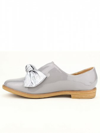 Derbies vernies grises CINKS, image 03