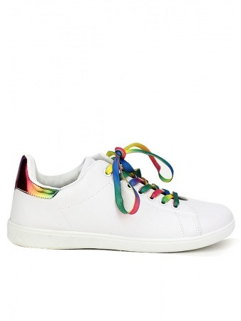 Baskets colors lacet GAYSY MODA