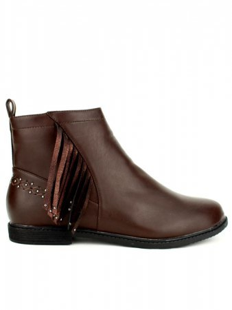 Bottine marron Simili M&L SHOES