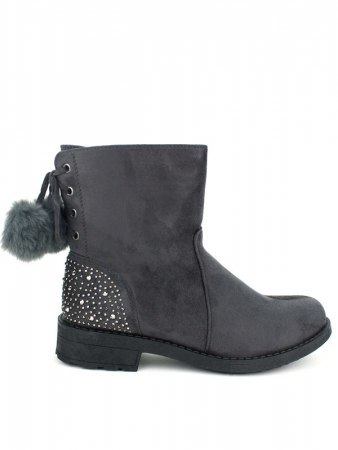 Bottines Grises paillettes CINKS LO