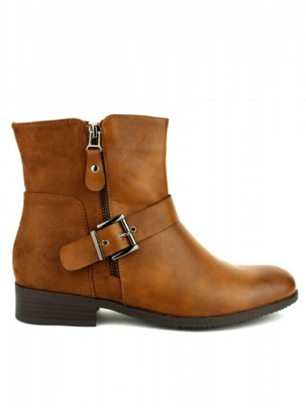 Bottine Caramel Grande Taille CINKS