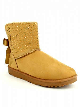 Boots Caramel Strass STEP, image 02
