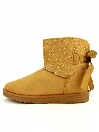 Boots Caramel Strass STEP, image 04