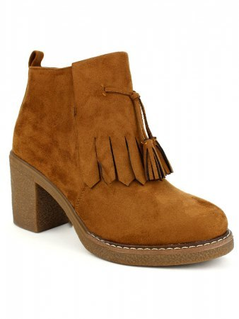 Bottines Caramels LAURA MODA, image 02