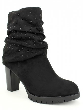 Lows boots Noires Strass QUENN, image 02