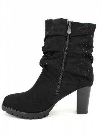 Lows boots Noires Strass QUENN, image 03
