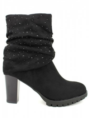 Lows boots Noires Strass QUENN