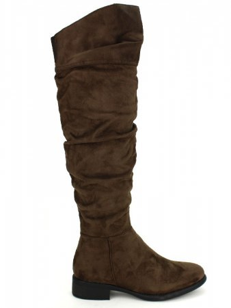Bottes Marron simili cuir GIRLGOOD