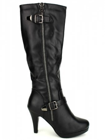Botte Noire Zip LIBRA POP