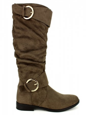 Bottes color Taupe BELLO STAR