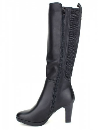 Bottes Noires simili SHOES IT'S, image 02