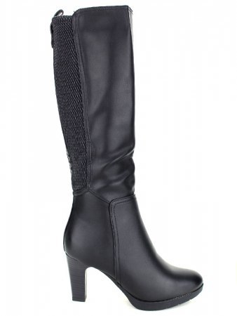 Bottes Noires simili SHOES IT'S
