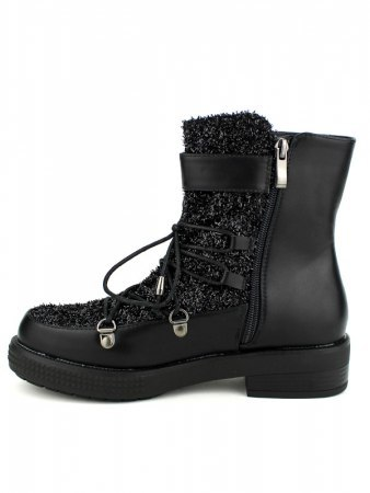 Boots Paillettes Black BELLO STAR, image 03