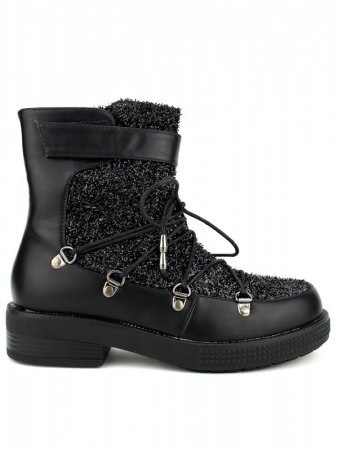 Boots Paillettes Black BELLO STAR