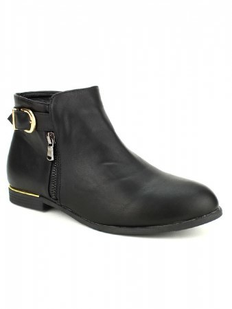 Bottines Noires CINKS LOOKS, image 02