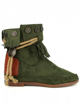 Boots Color daim kaki BELLOS