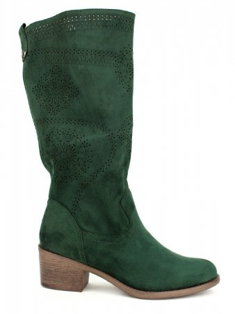 Botte Color Vert Fashion WEIDE