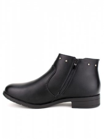 Bottines Noires Clous CATWOUM, image 02