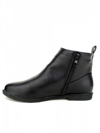 Bottine Noire Simili M&L SHOES, image 02