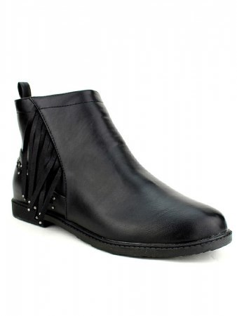Bottine Noire Simili M&L SHOES, image 03