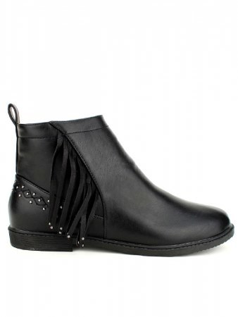 Bottine Noire Simili M&L SHOES