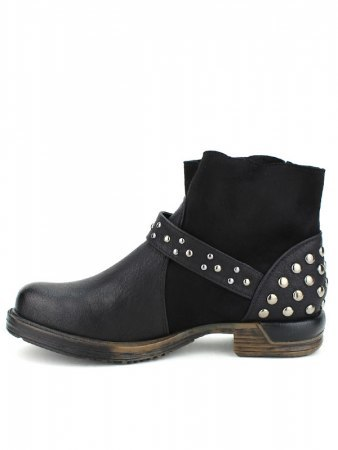 Bottine noire Simili cuir DAYNE ROCK, image 03