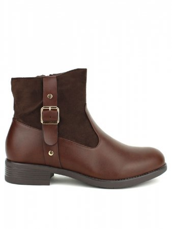 Bottines Marron CINKS ME simili cuir
