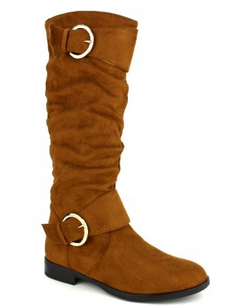 Botte simili peau color Camel BELLO STAR, image 02