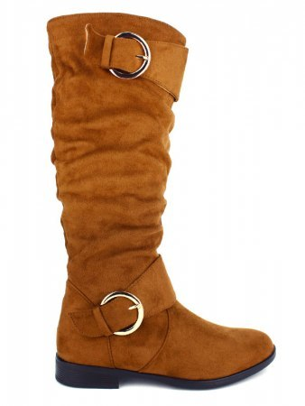 Botte simili peau color Camel BELLO STAR