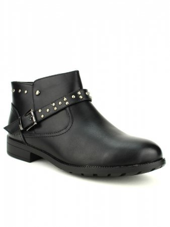 Bottines Noires ML SHOES RIVETS, image 02