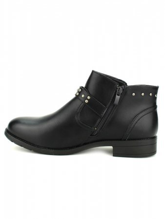 Bottines Noires ML SHOES RIVETS, image 03