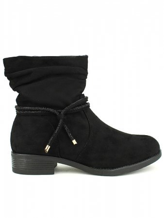 Bottines black BO AIME