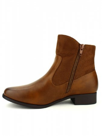 Bottines Marron CINKS LOOKS, image 03