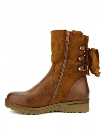 Bottines Caramel Simili peau CINKS, image 04