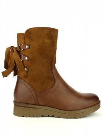 Bottines Caramel Simili peau CINKS