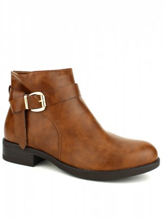 Bottines camel BO AIME Boucles, image 02