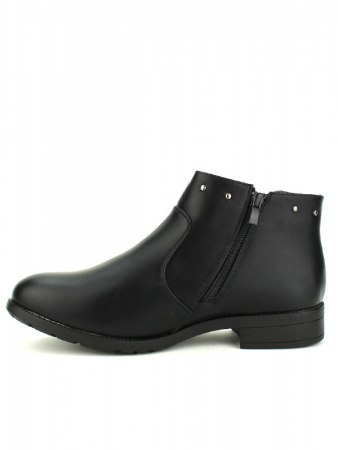 Bottines Noires clous ML SHOES, image 03