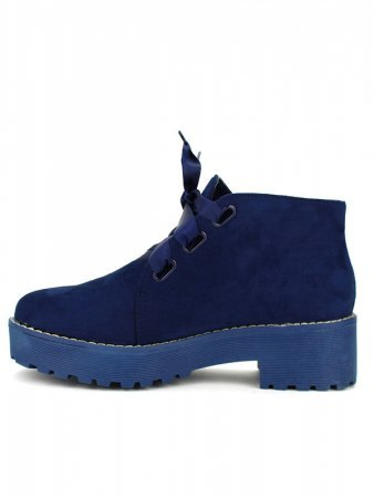 Bottine façon Derbies Blue BELIOS, image 03