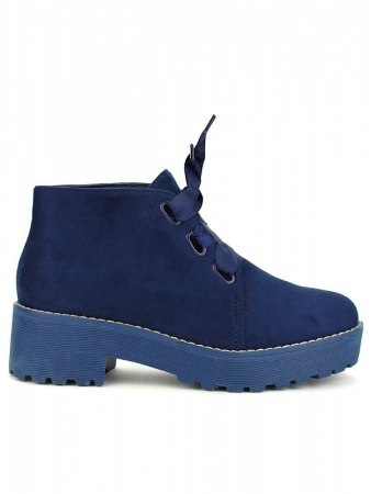 Bottine façon Derbies Blue BELIOS